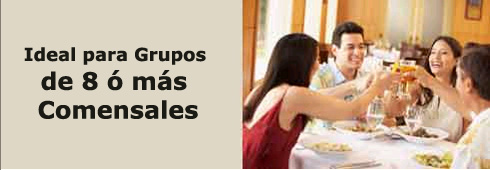 MX OpenTable es Ideal para Grupos